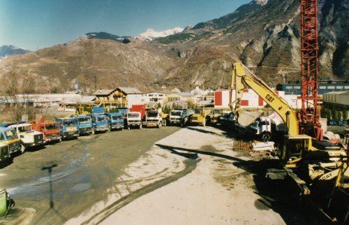 Parc matériel TRUCHET en 1990