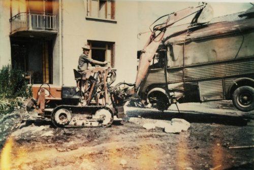 1ère mini-pelle (1968)
